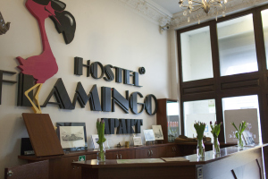 Hostel Flamingo frontdesk