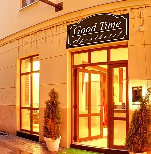 GoodTime aparthotel outside view